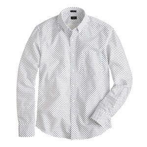 J.Crew slim vintage oxford shirt daisy print large